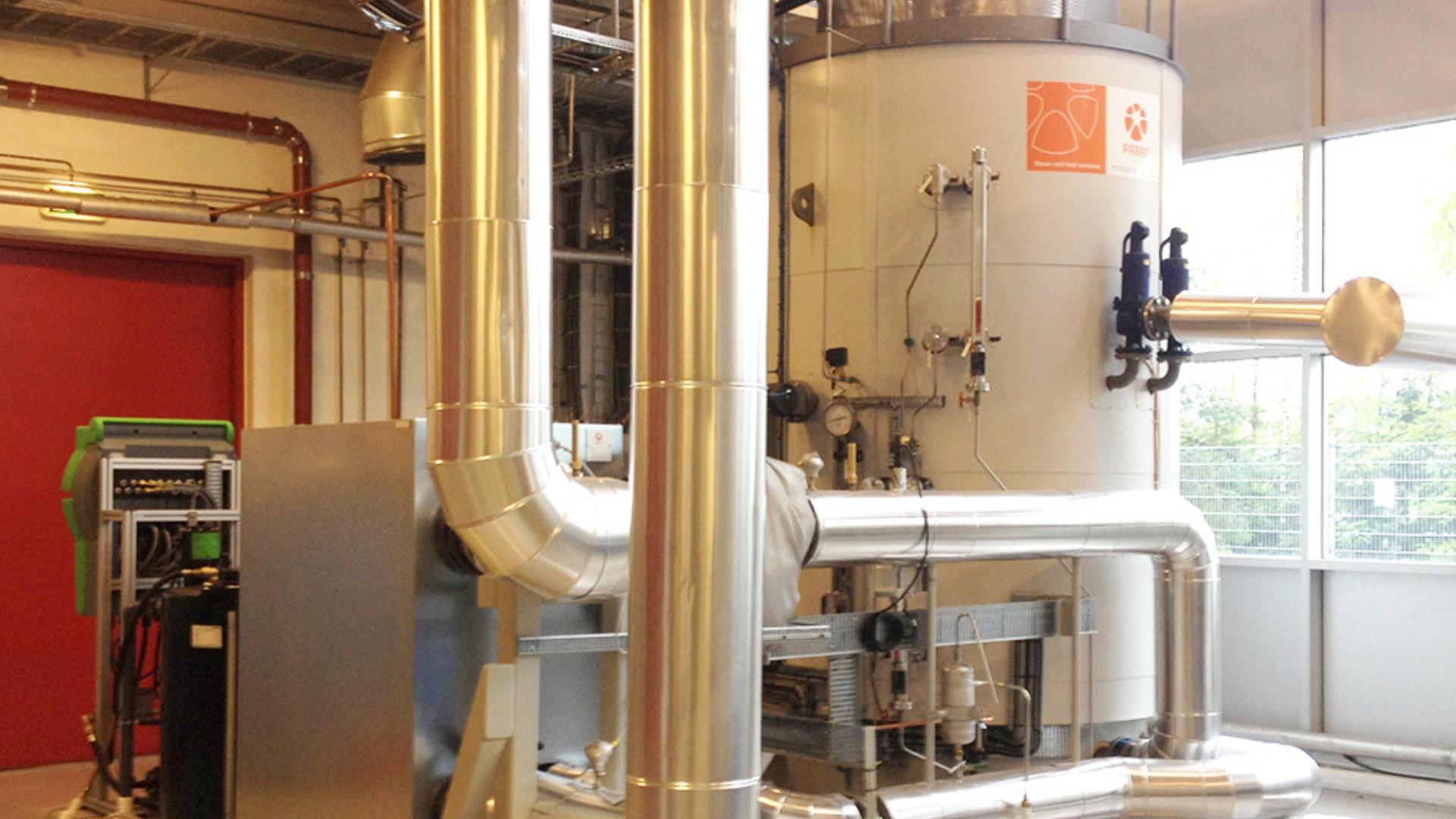 Project Elektrodeboiler warmtekrachtcentrale Ypenburg