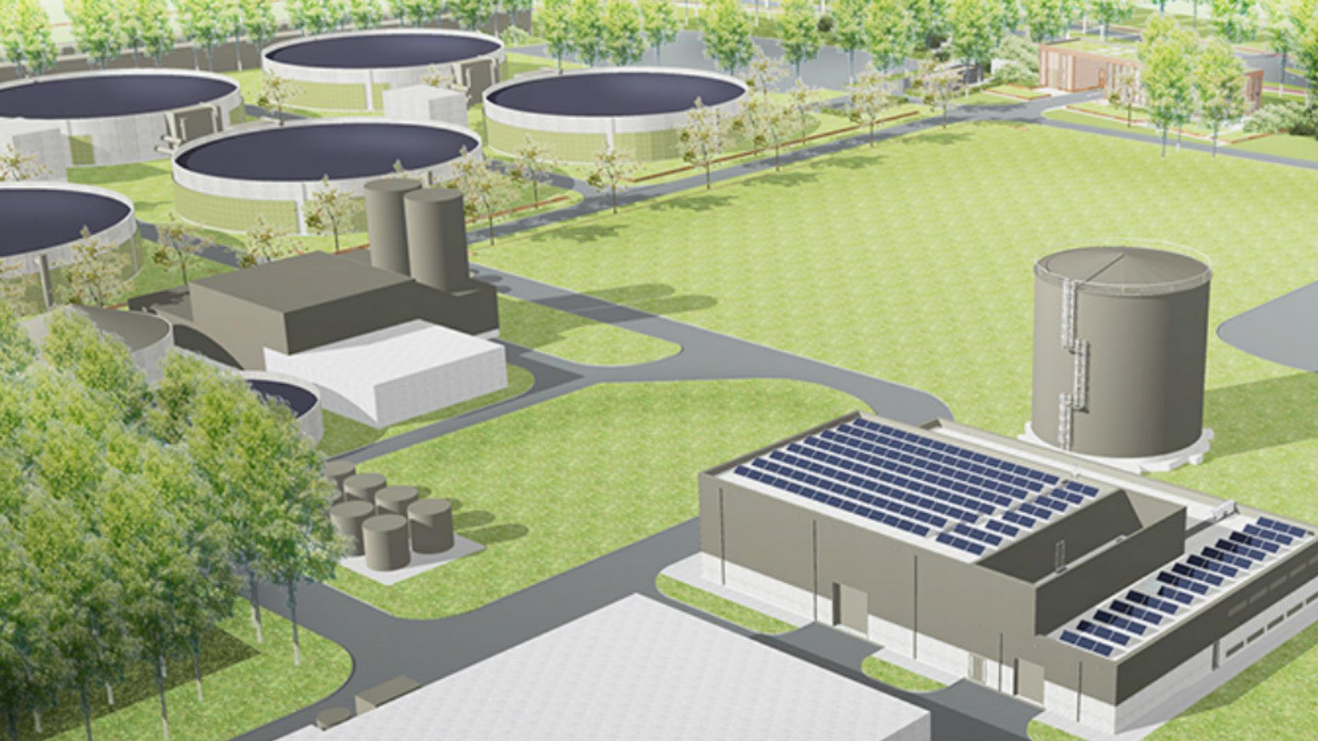 Project Warmtepomp Rioolwaterzuivering Utrecht